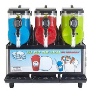 Compact Treble front view-Regular Treble Slush Machine