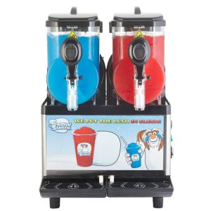 Compact Twin front view-Regular Treble Slush Machine
