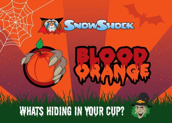 Blood Orange Flavour Label 2018