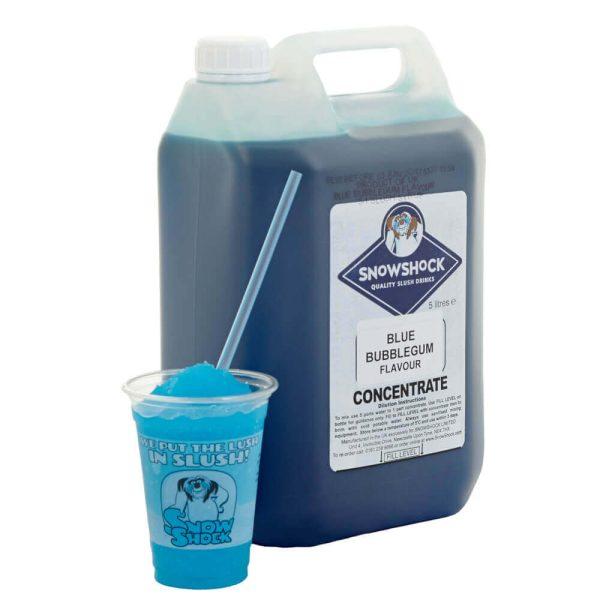 Blue Bubblegum 1-SnowShock Concentrate – Blue Raspberry 5ltr