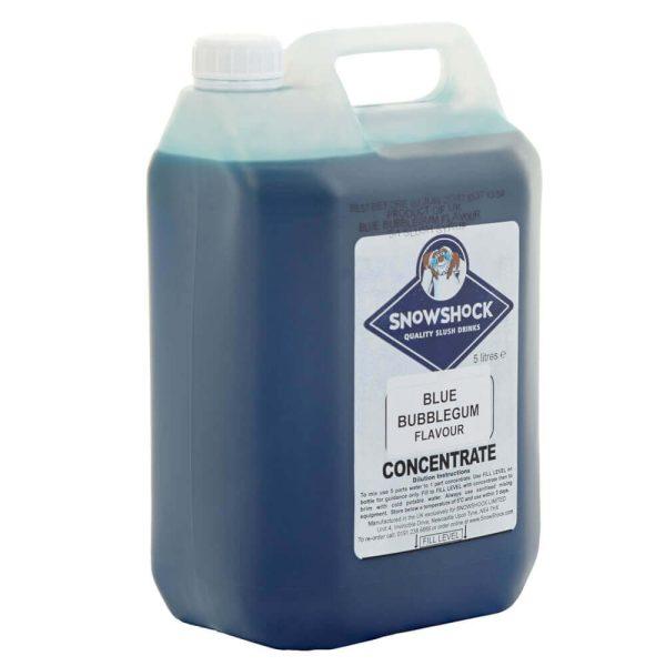 Blue Bubblegum 2-SnowShock Concentrate – Blue Raspberry 5ltr