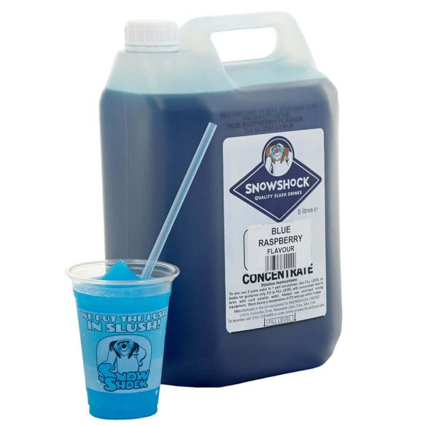 Blue Rasberry 1-SnowShock Concentrate – Blue Raspberry 5ltr
