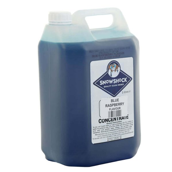 Blue Rasberry 2-SnowShock Concentrate – Blue Raspberry 5ltr