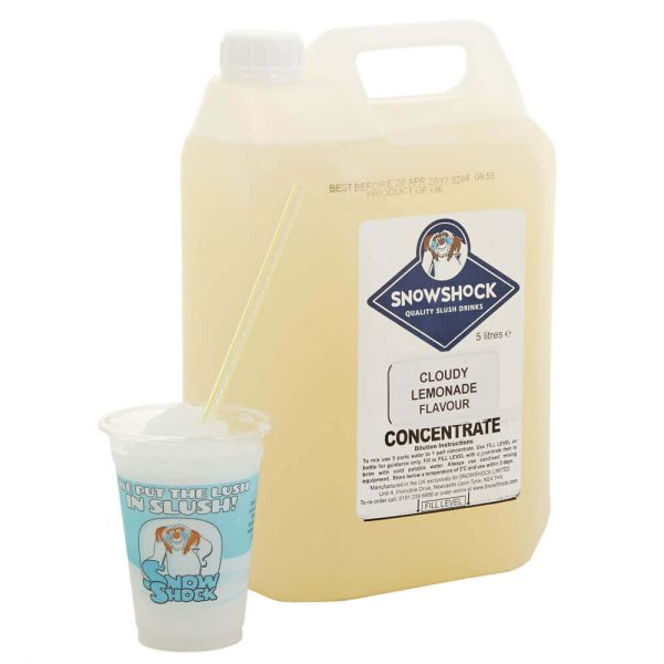 Cloudy Lemonade 1-SnowShock Concentrate – Blue Raspberry 5ltr