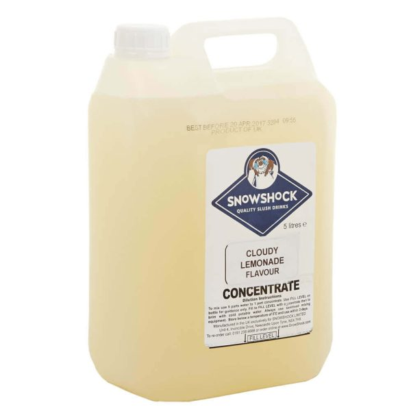 Cloudy Lemonade 2-SnowShock Concentrate – Blue Raspberry 5ltr