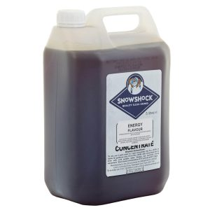 Energy-SnowShock Concentrate – Blue Lagoon Mocktail 5ltr