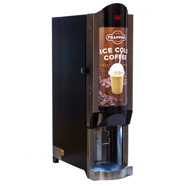 Side view of Frappina machine