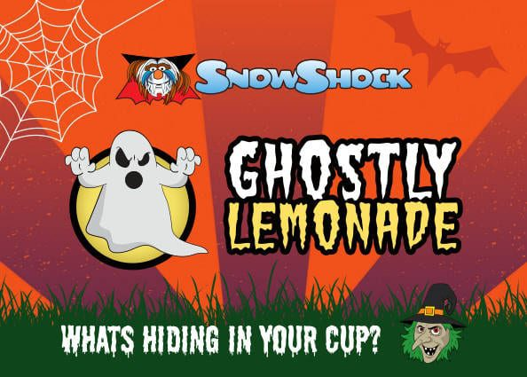 Ghostly Lemonade Flavour Label 2018