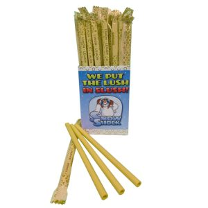 Lemon Edible Straws