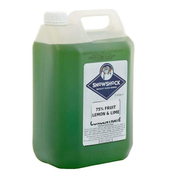 Lemon+Lime 75% fruit-SnowShock Concentrate – Blue Raspberry 5ltr