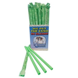 Lime Edible Straws