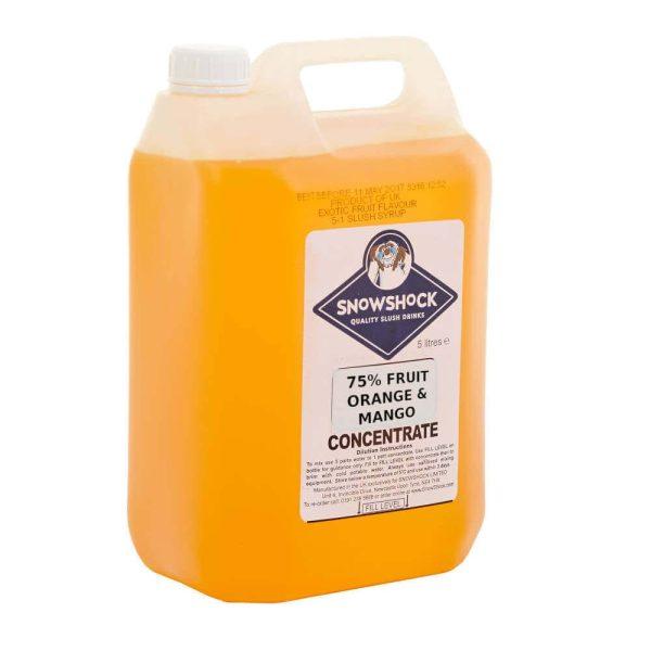 Orange & Mango 75% fruit