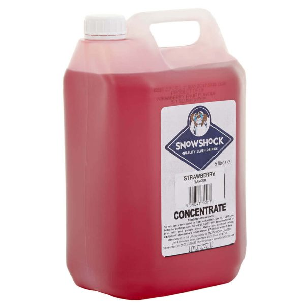 Stawberry 2-SnowShock Concentrate – Blue Raspberry 5ltr