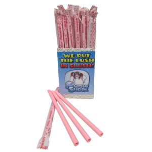 edible straw-SnowShock Edible Straws (Box 200) Lime