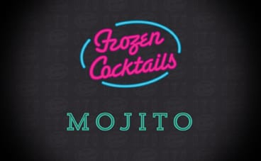 Frozen Cocktails_Mojito-SnowShock Concentrate – Mojito Mocktail 5ltr