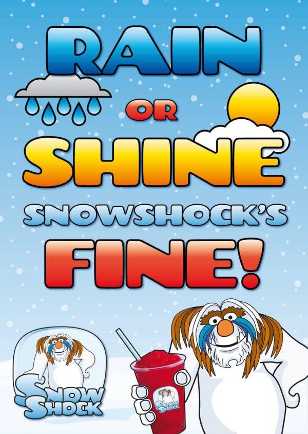 Rain or Shine_A3 Poster