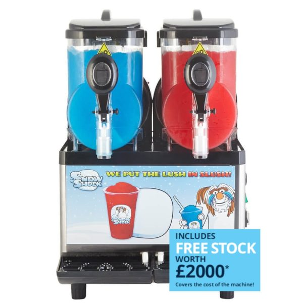 Image of SnowShock machine - two colours