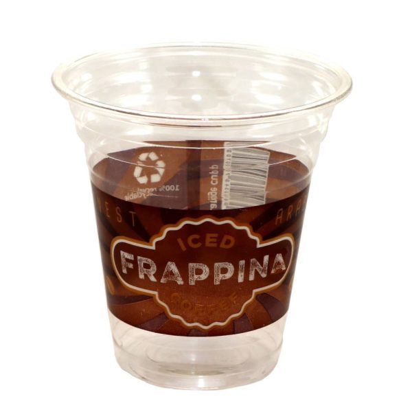 Iced Frappina coffee cup